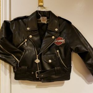 ca7068719141 Kids  Harley Davidson Leather Jacket on Poshmark